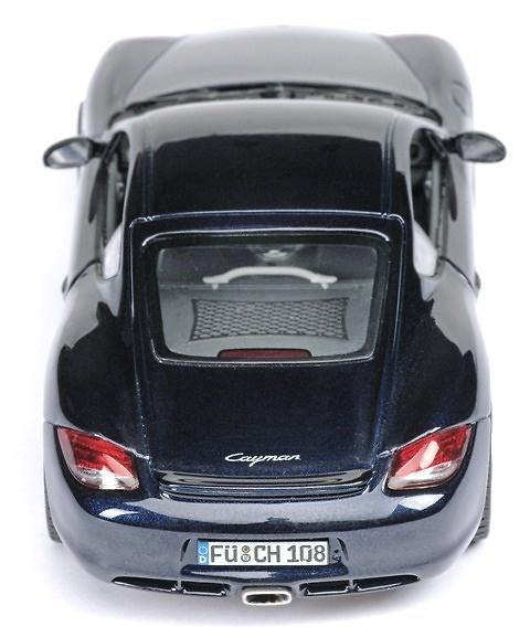 Porsche Cayman Serie 2 (2008) Schuco 07296 1/43