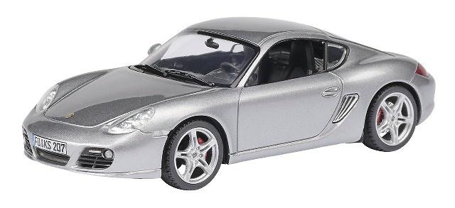 Porsche Cayman Serie 2 (2008) Schuco 07301 1/43