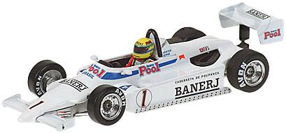 Ralt RT3 Toyota (1983) Brithis Champion F3 nº 1 Ayrton Senna Minichamps 540834311 1/43