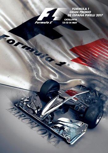 Poster del GP. F1 de España de 2017