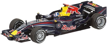 Red Bull RB4 nº 9 David Coulthard (2008) Minichamps 1/43