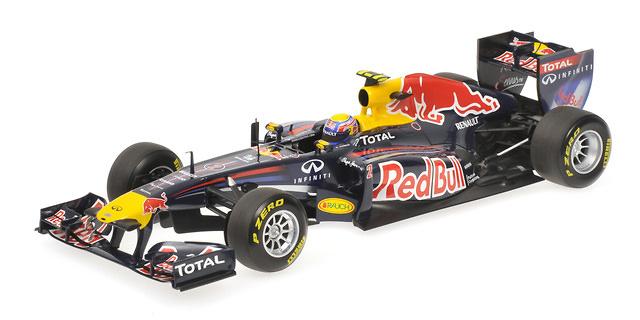 Red Bull RB7 nº 2 Mark Weber (2011) Minichamps 1/18