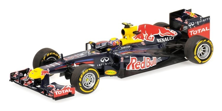 Red Bull RB8 nº 2 Mark Webber (2012) Minichamps 1/43