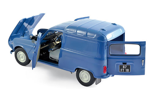 Renault 4 Furgoneta (1965) Norev 185188 1:18