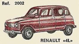 Renault 4 Nacoral 2002 1/43