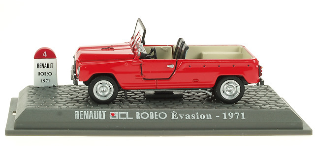 Renault 4L Rodeo Evasion (1971) M6 1/43