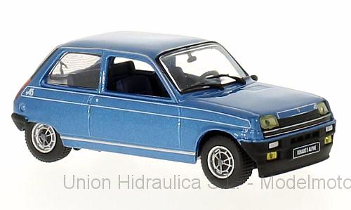 Renault 5 Alpine (1976) White Box WB240 1/43