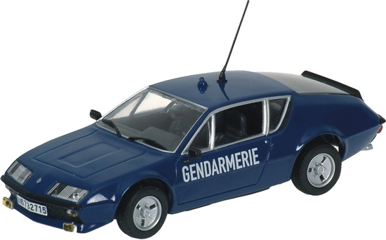 Renault Alpine A310 Gendarmerie Minichamps 400113590 1/43