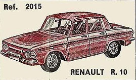 Renault R10 Nacoral 2015 1/43