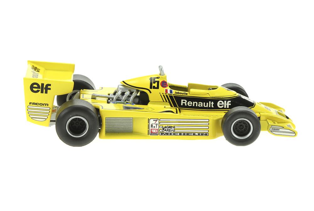 Renault RS01 nº 15 Jean Pierre Jabouille (1977) Sol90 11244 1:43
