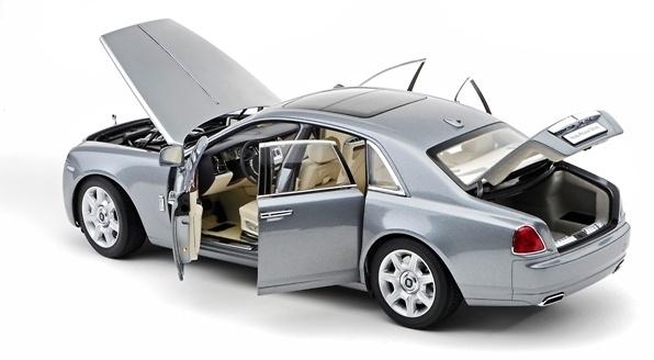 Rolls Royce Ghost (2010) Kyosho 08801 1/18