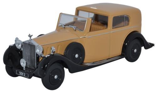 Rolls Royce Phantom III SdV HJ Mulliner (1936) Oxford 43RRP3002 1/43