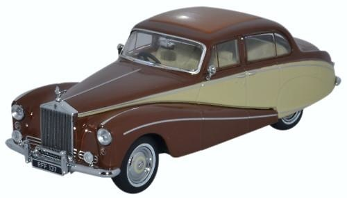 Rolls Royce Silver Cloud Hooper Empress (1955) Oxford 43EMP001 1/43