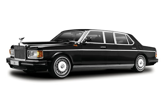Rolls Royce Silver Spur (Spirit) Limousine (1991) True Scale Models TSM124372 1/43