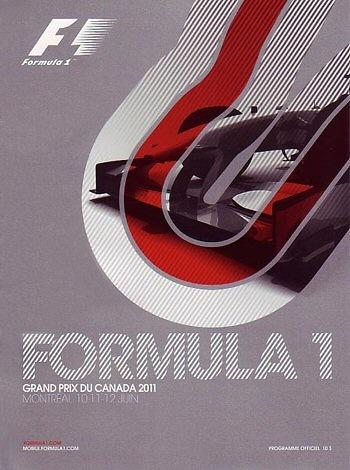 Poster del GP. F1 de Canadá de 2011