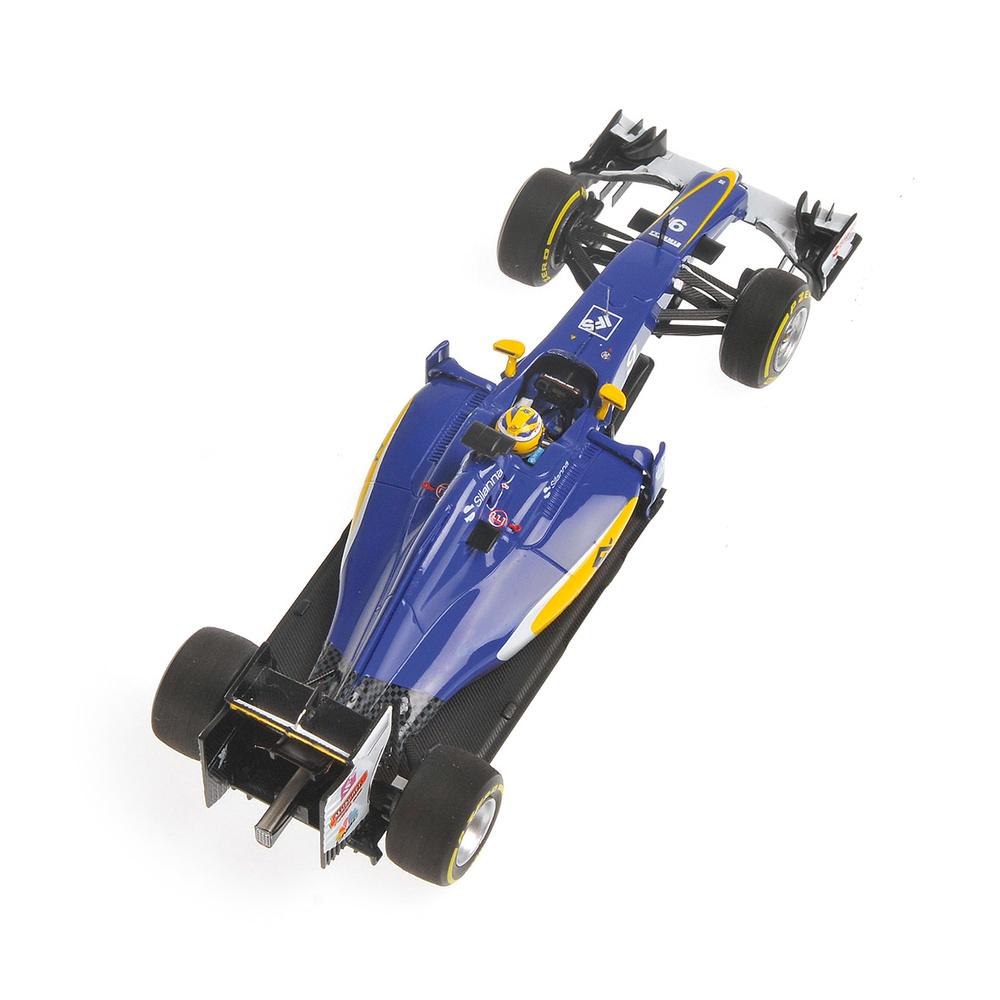 Sauber C35 nº 9 Marcus Ericsson (2016) Minichamps 417160009 1:43