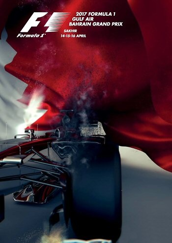 Poster de GP. F1 de Bahrein de 2017