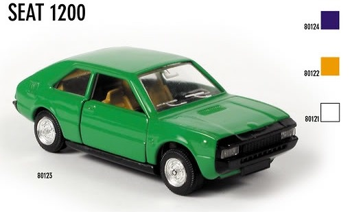 Seat 1200 Sport (1975) Scale Carr 80123 1/43