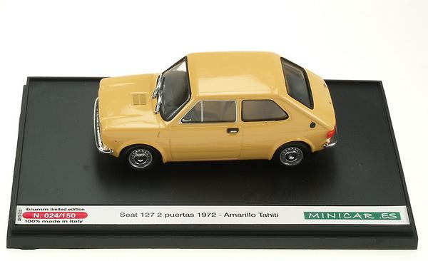 Seat 127 2p. (1972) Brumm S1202 1/43