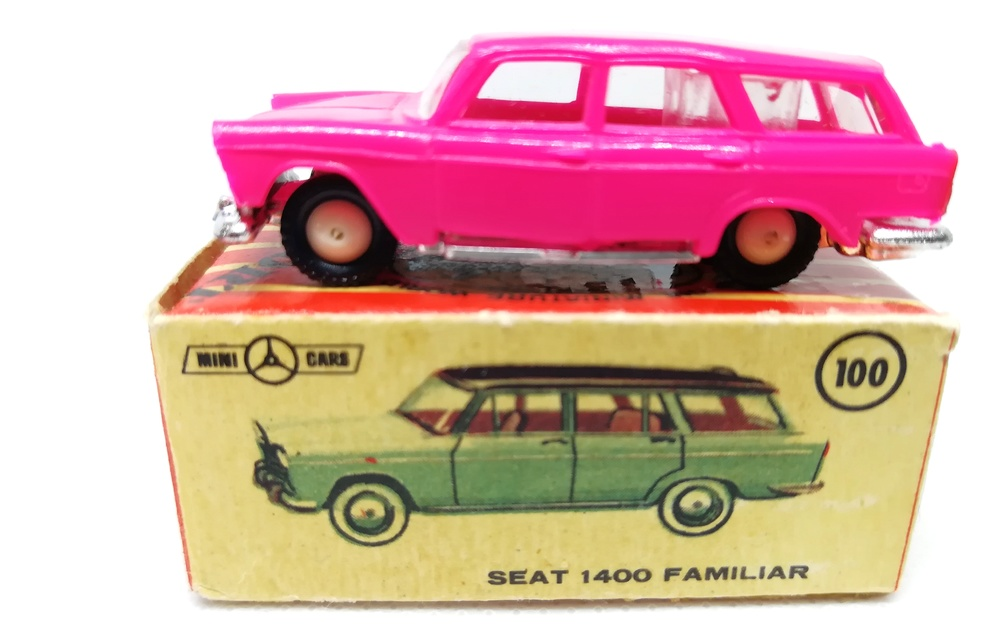 Seat 1400C Familiar (1960) Mini-Cars 100 1/86