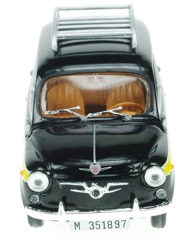 Seat 800 Taxi De Madrid 1963 Salvat Solido S0015 1 43