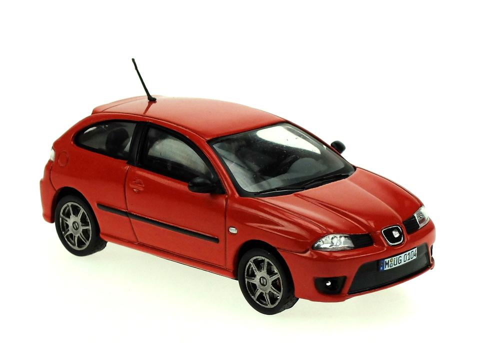 Seat Ibiza Cupra Tdi (2006) White Box WB218 1:43