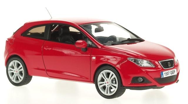 Seat Ibiza 3p. Serie IV (2008) Ixo 8549001 1/43