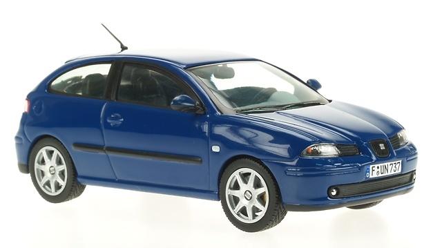 Seat Ibiza Serie III (2002) Ixo 0107 1/43