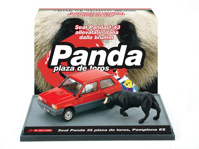 Seat Panda 35 (1980) Plaza Toros Pamplona Brumm S0602 1/43