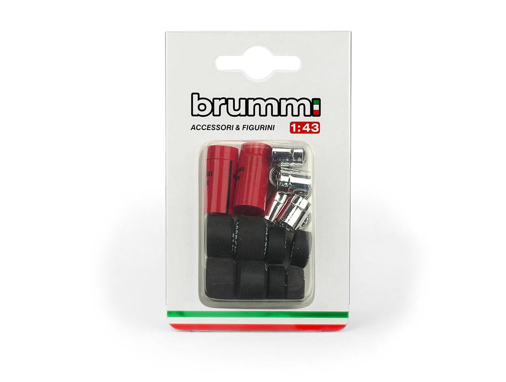 Set Neumáticos Ferrari 126 C2 (1982) Brumm F094 1:43