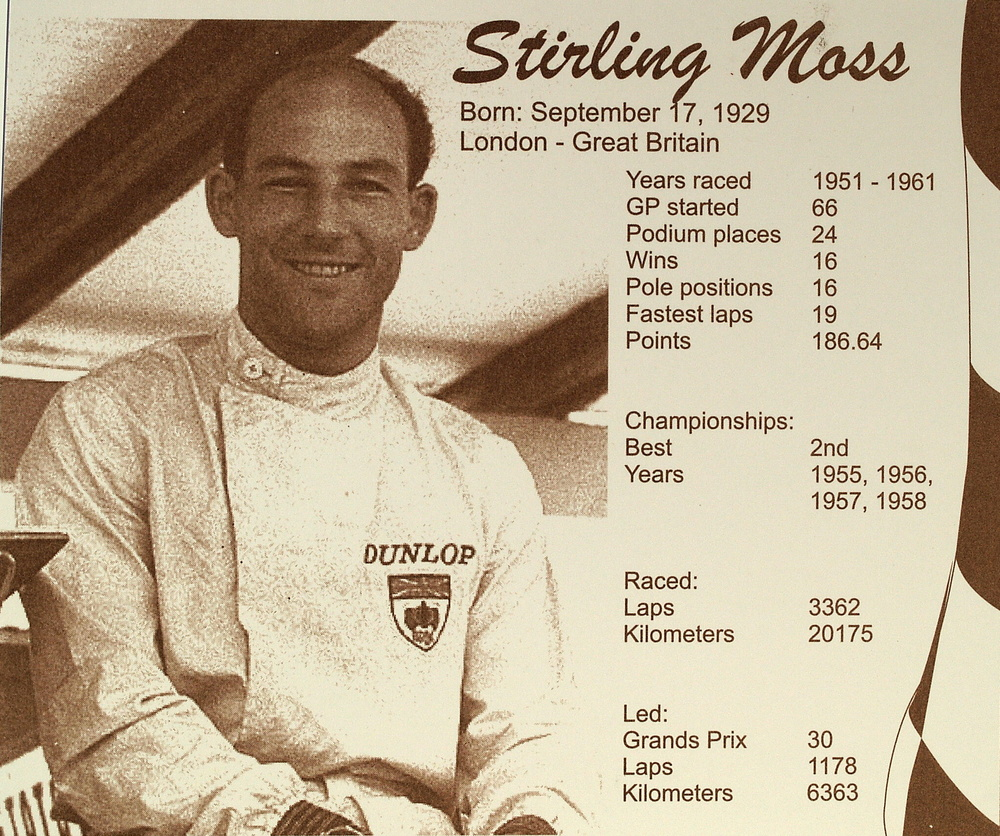 Set de 5 Vanwall de Stirling Moss (1958) Brumm MMBM2 1/43