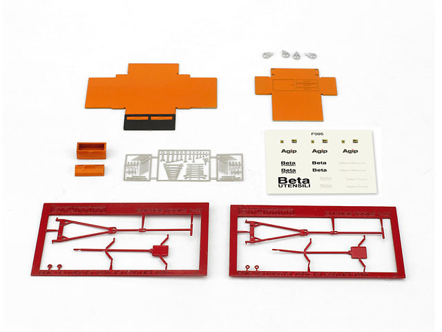 Set de herramientas y accesorios (1982) Brumm F095 1:43