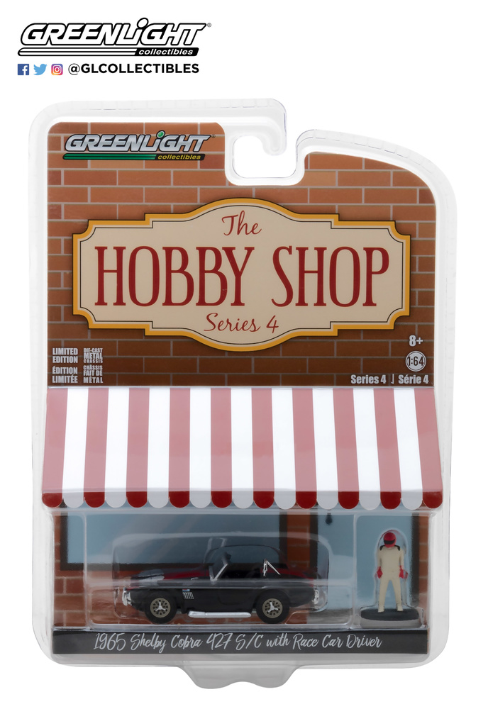 The Hobby Shop series 4 Greenlight 97040A 1/64