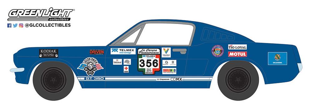 Shelby GT350 nº 356 (1965) Greenlight 13240B 1/64
