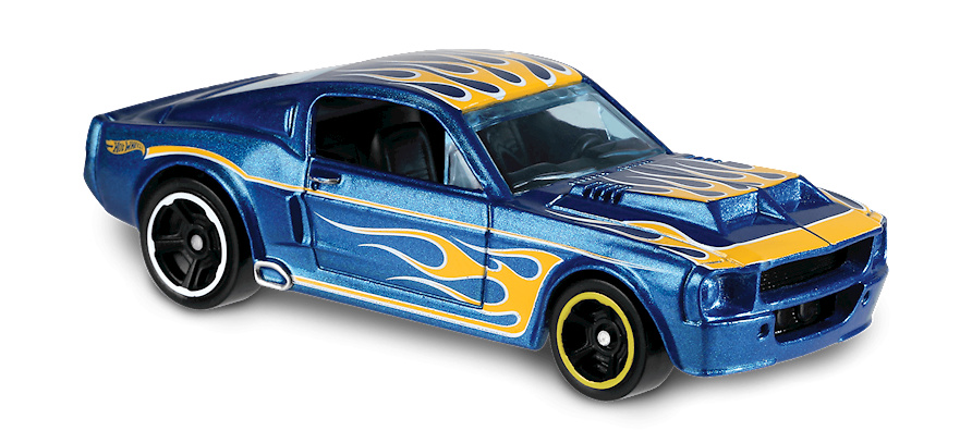 Shelby GT500 -Flames- (1967) Hot Wheels FYC45 1/64