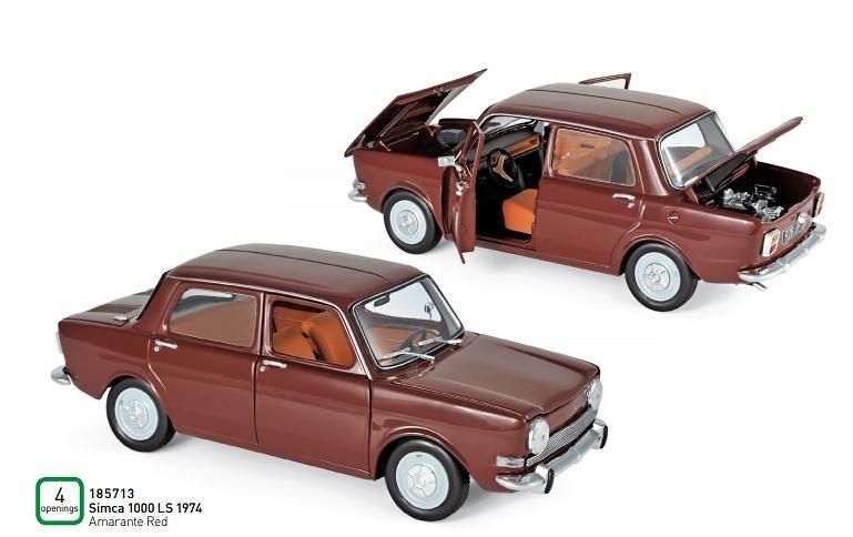 Simca 1000 LS (1974) Norev 185713 1:18