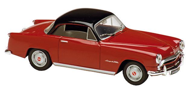 Simca Aronde 1300 Coupé de Ville (1956) Solido 14310500 1/43