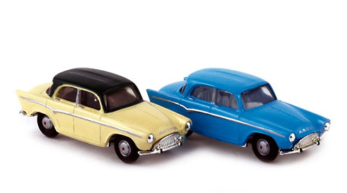 Simca P60 (1960) Norev 576082 1/87
