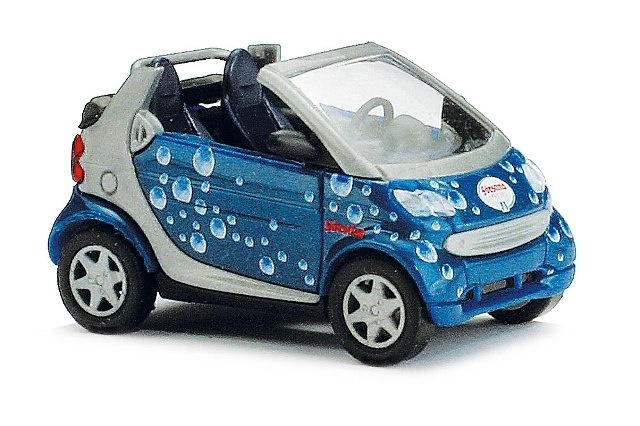 Smart Fortwo Cabrio Burbujas (1998) Busch 48971 1/87