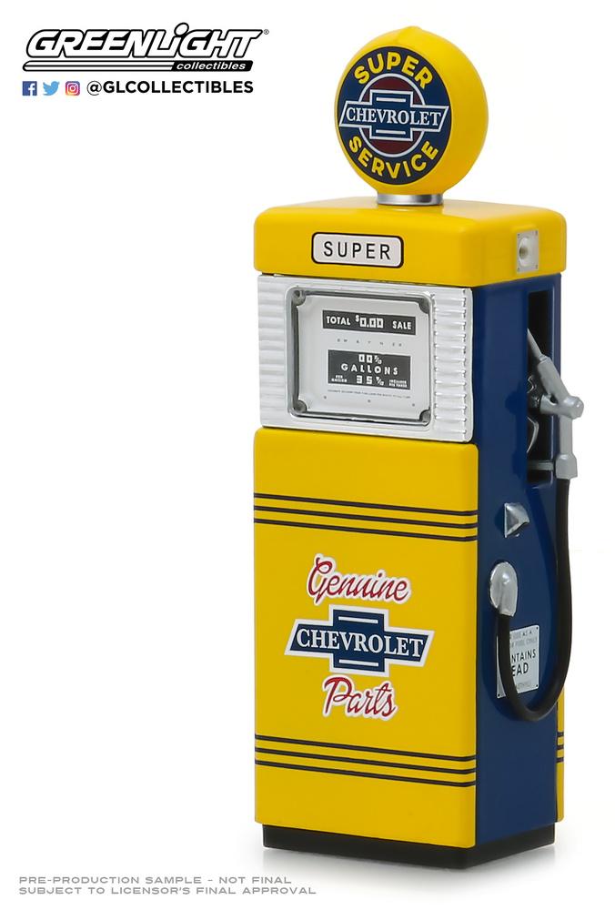 Surtidor Wayne 505 Gas Pump Chevrolet Super Service (1951) 14060B 1/18