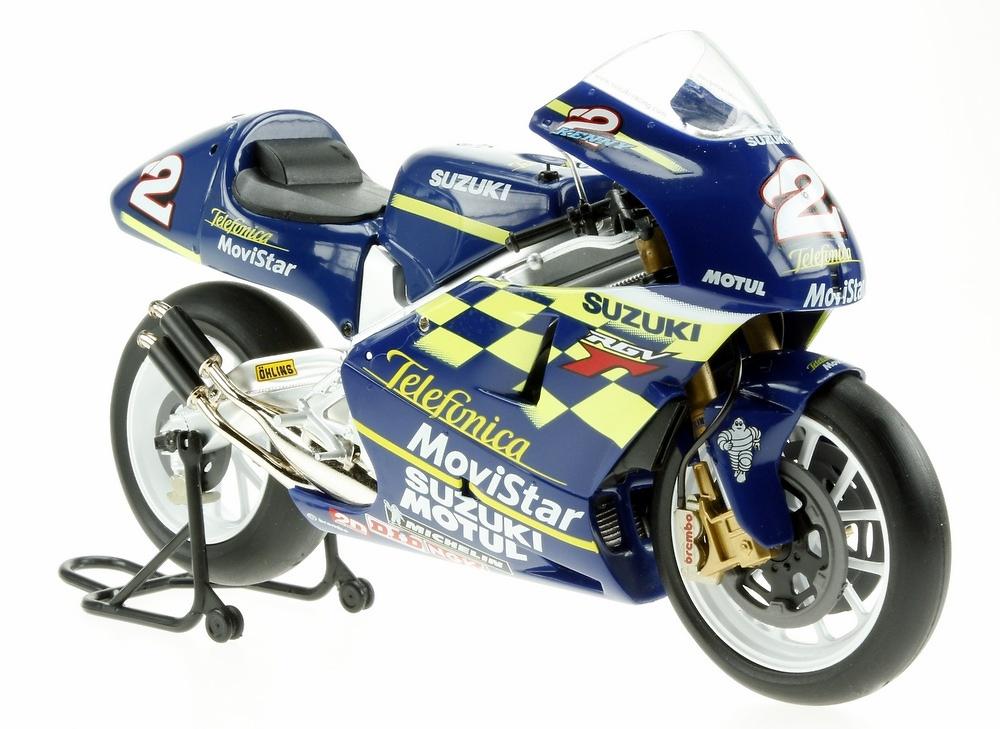 Suzuki RGV500 nº 2 Kenny Roberts Jr. (2000) Altaya MC42 1/12