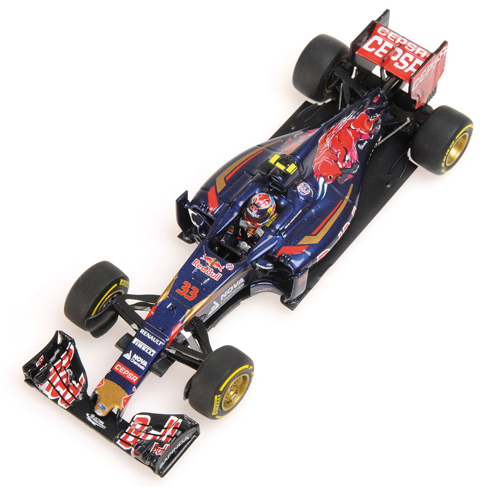 Toro Rosso STR10 nº 33 Max Verstappen (2015) Minichamps 417150033 1:43