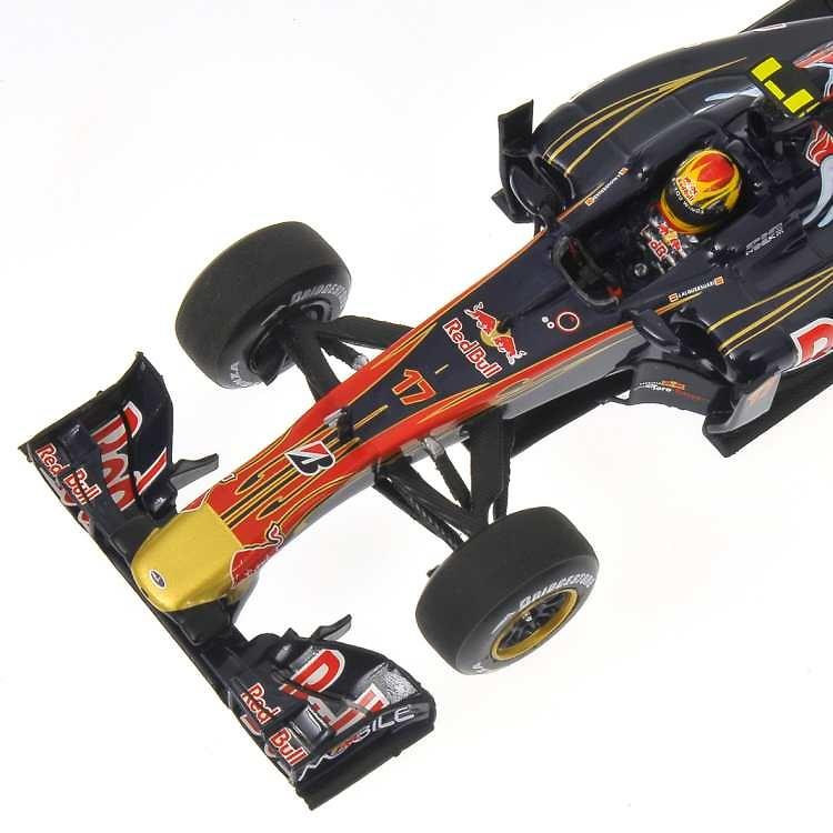 Toro Rosso STR5 nº 17 Jaime Alguersuari (2010) Minichamps 410100017 1/43
