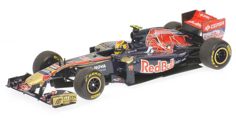 Toro Rosso STR6 nº 19 Jaime Alguersuari (2011) Minichamps 1/43 410110019