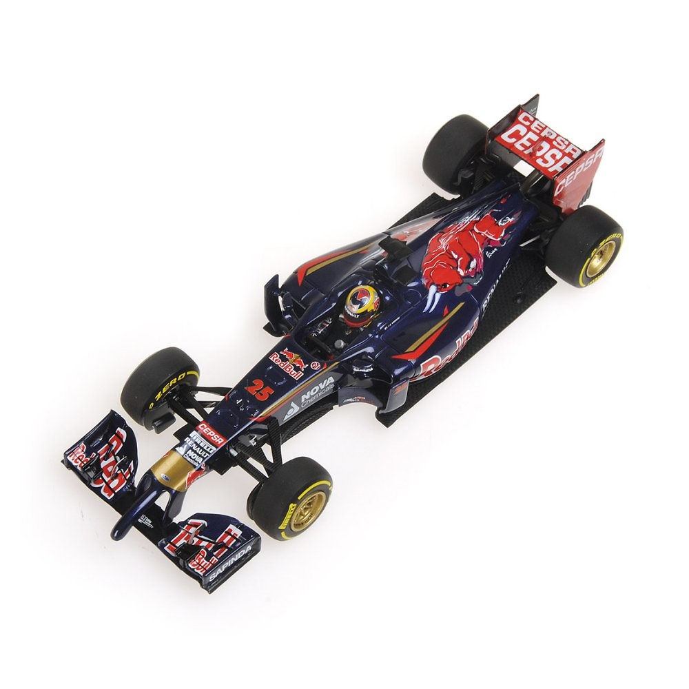 Toro Rosso STR9 nº 25 Jean-Eric Vergne (2014) Minichamps 417140025 1:43