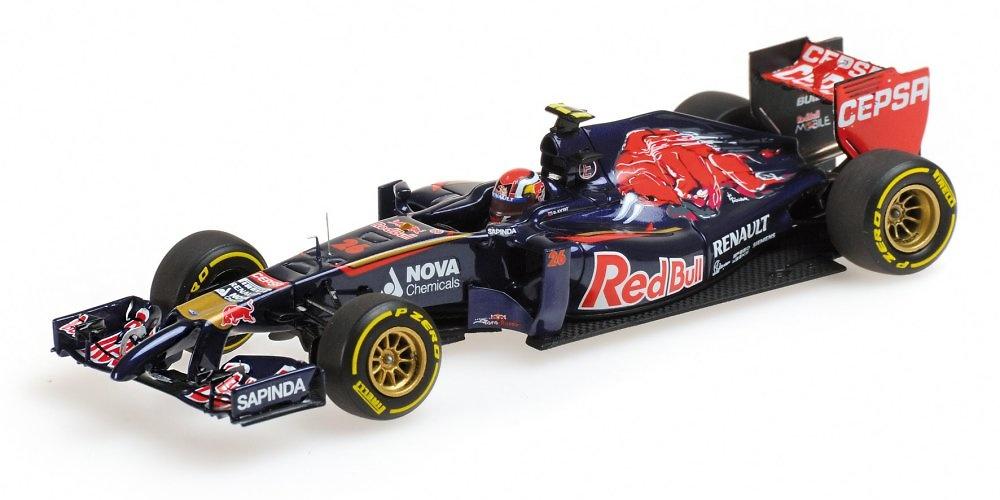 Toro Rosso STR9 nº 26 Danil Kvyat (2014) Minichamps 417140026 1:43
