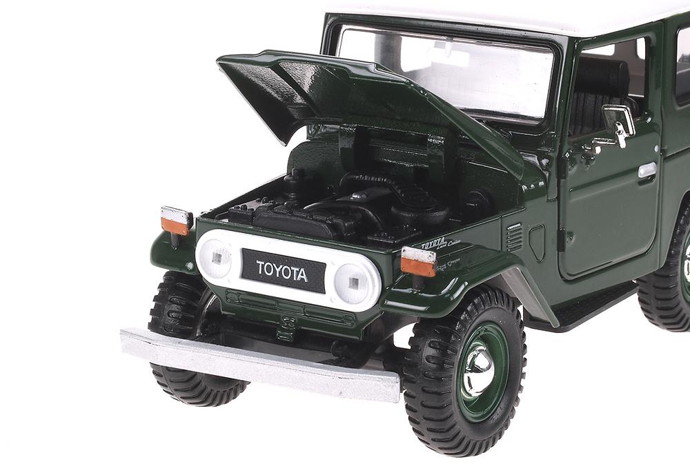 Toyota FJ 40 Soft Top (19760) Motormax 79323GN 1:24