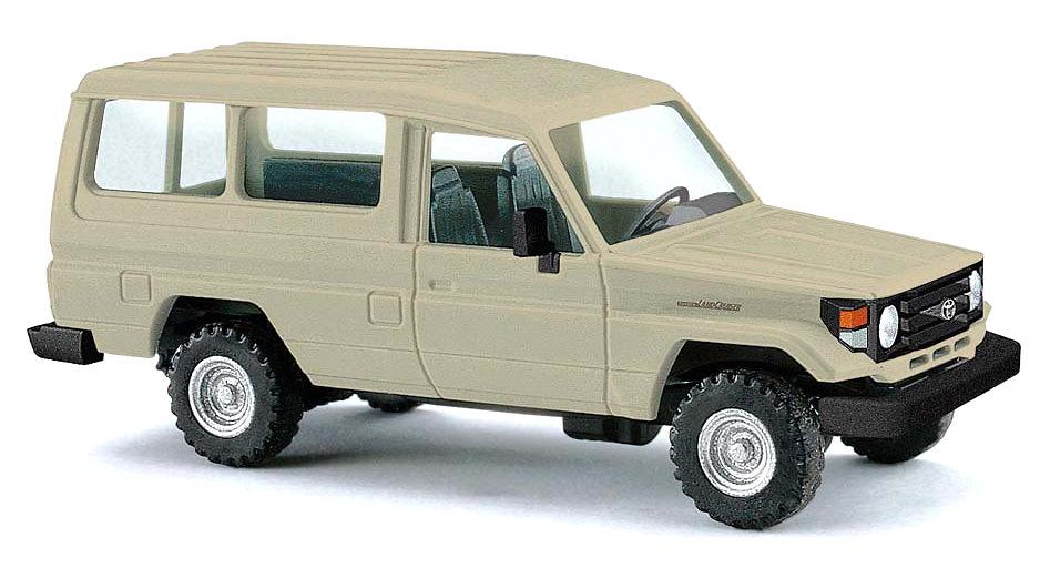 Toyota Land Cruiser J70 HZJ78 (1984) Busch 43555 1:87