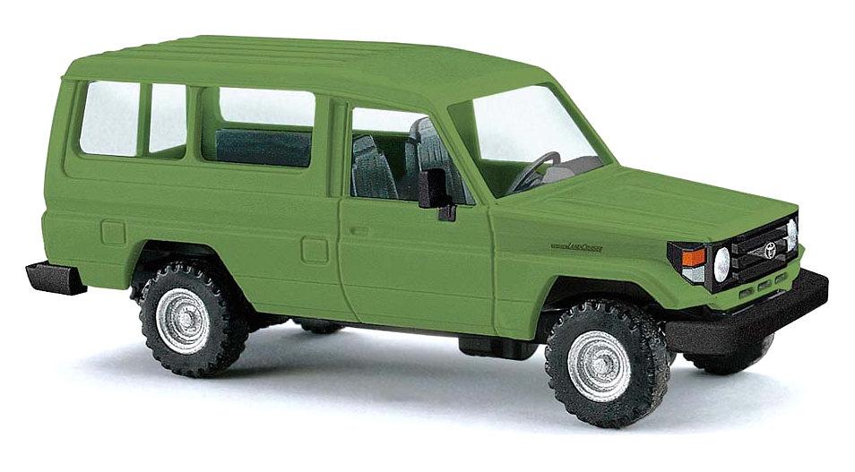 Toyota Land Cruiser J70 HZJ78 (1984) Busch 43556 1:87