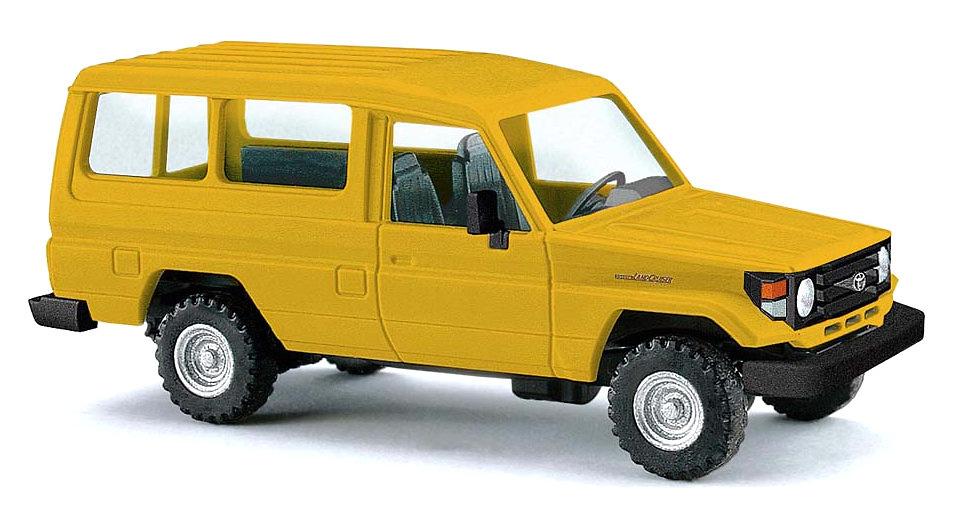 Toyota Land Cruiser J70 HZJ78 (1984) Busch 43554 1:87